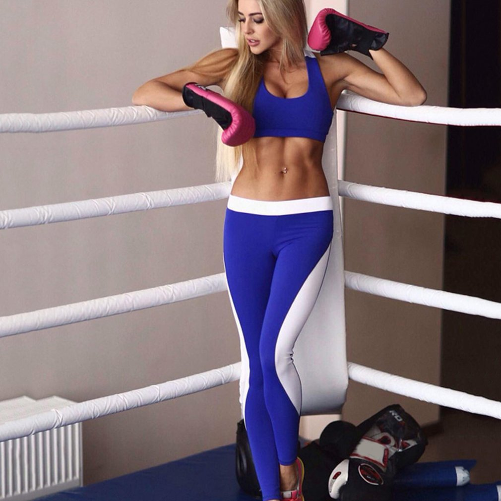 2016 nuevas mujeres Fitness Yoga pantalones cintura elástica lápiz  Pantalones deportivos Hip Up Leggings Fitness malla diseño transpirable  negro Nos ... b88833f3bac5
