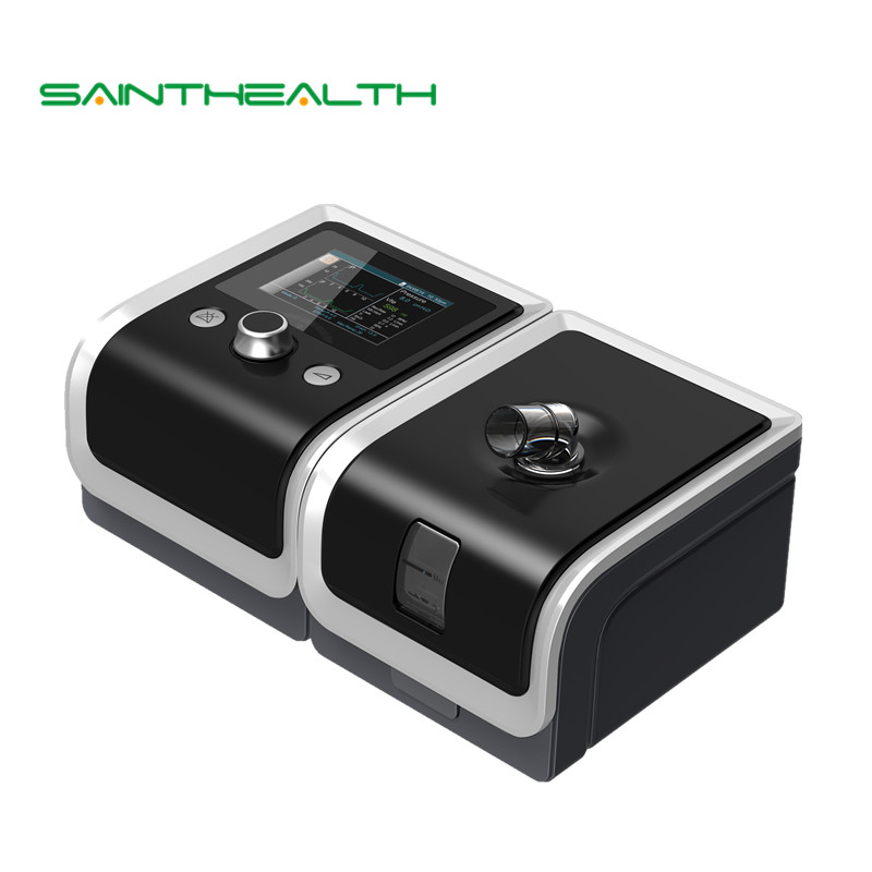 BMC GII BPAP T-25A Breathing Machine Bilevel Ventilation Therapy OSA COPD For Sleep Snoring Apnea with Face Mask SPO2 Kit doctodd gii bpap t 20s cpap machine w free mask humidifier and spo2 kit respirator for apnea copd osahs osas snoring people