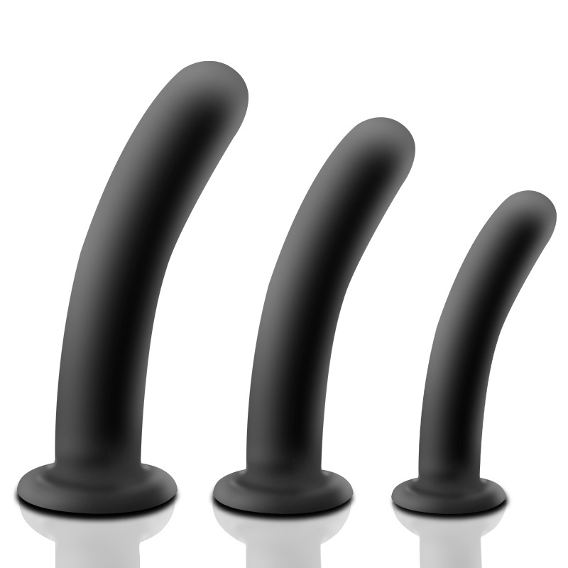 Silicone Anal Plug S/M/L 3 Size Anal Dildo Prostate Massager Anus Trainer Masturbator Butt Stopper Sex Toys for Couples H8-2-74