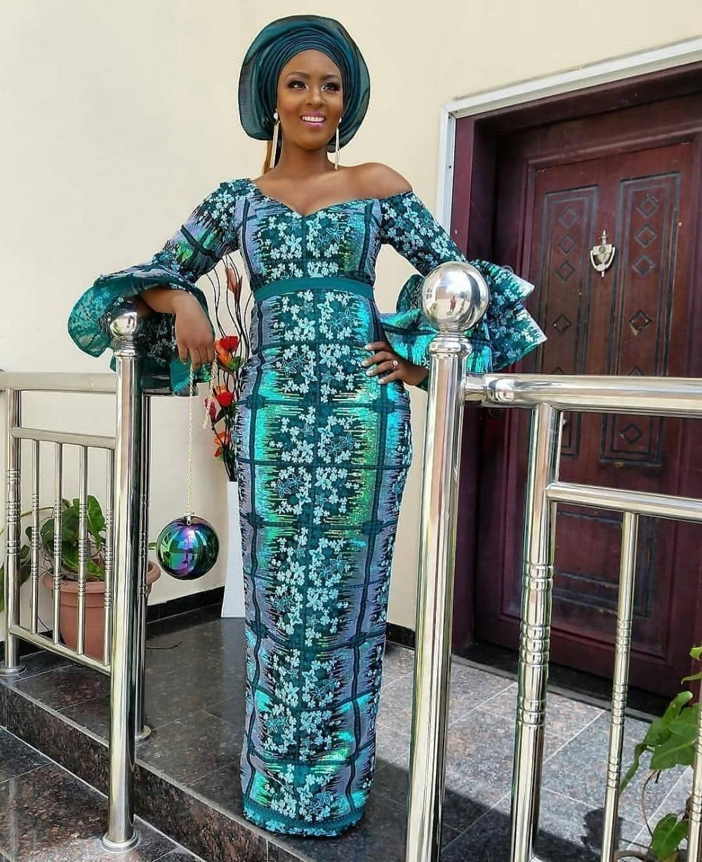 Tela de encaje africano 2018 tela de encaje nigeriano de encaje bordado de alta calidad para mujer XY1817B 1-in encaje from Hogar y Mascotas    1