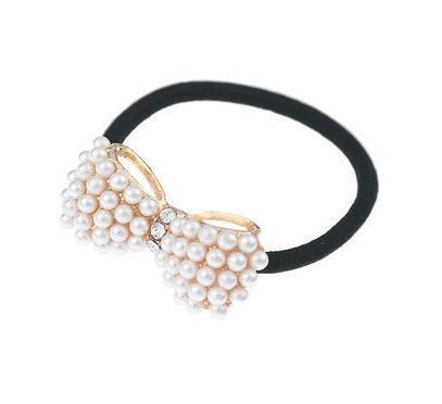 Free Shipping Delicate Jewelry Pearl Hair Clips Band Hair Pin B002