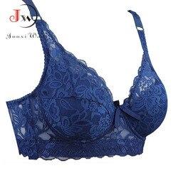 Sutiã de renda feminina underwire push up sexy underwear sutiãs para mulher bralette lingerie intimates