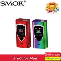 100 Original SMOK ProColor Mod Vape Vaporizer E Cigarette Box Mod 225W Mech Mod TFV8 Big