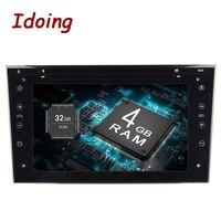 Idoing 4G + 32G Android9 2Din для Opel Vectra Corsa D Astra руль автомобиля мультимедиа, ТВ Быстрая загрузка встроенный 3g болтающийся диск