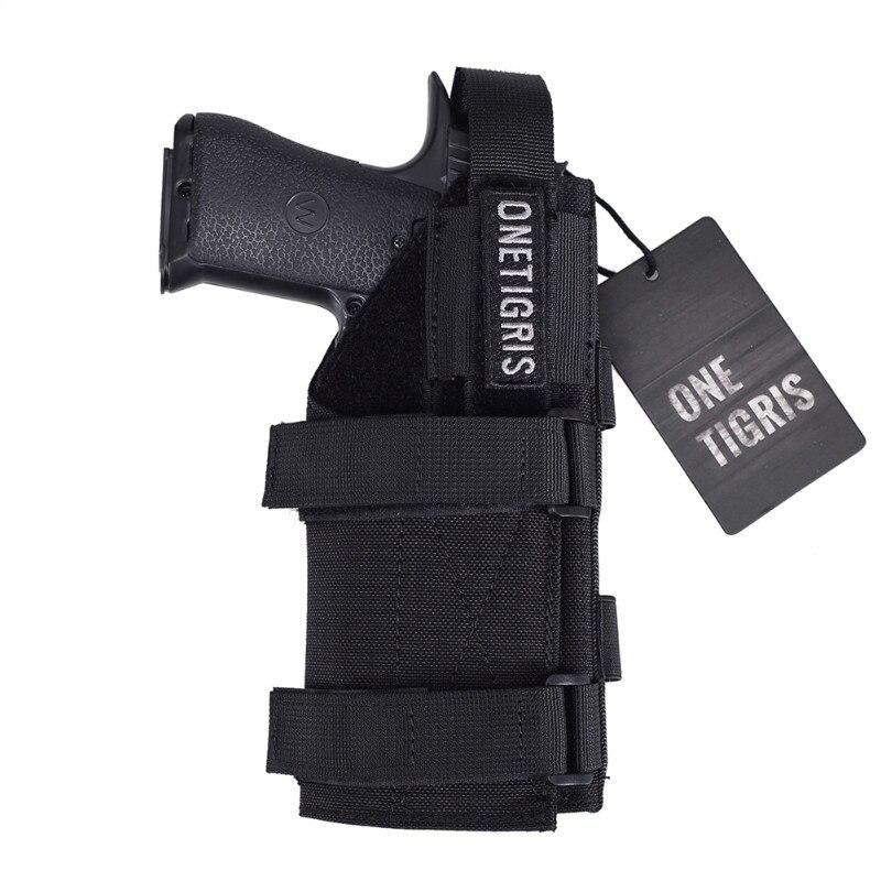 OneTigris Tactique Gun Holster Molle Modulaire Ceinture Pistol Holster pour Droitier Tireurs Glock 17 19 22 23 31 32 34 35