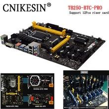 Neue TB250-BTC PRO 100{6b1d8e5c8174d39804674a2bffc45d31ecc656e09868d3aecb71eff0735dd768} Neu im kasten 12 PCIE für Biostar TB250-BTC TB250 1151 DDR4 motherboard (alternative H81 BTC PRO TB85 H81