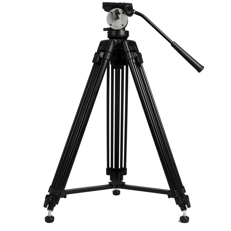 BENRO KH25N Professional Camera Tripod Quick Release Plate Single Handle Hydraulic Damper Head Suit Tripe Tripodes Accessories benro s4 video head