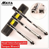 Mxita Interchangeable Open Ended Insert Tools Torque Wrench Adjustable Torque Wrench Hand Spanner Repairing Tools hand tool set