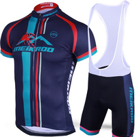 Original Meikroo Spider Mountain Bib Short Sleeve Cycling Jersey Sets Summer MTB Road Bike Race Evo