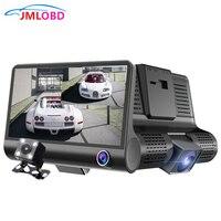 2 in 1 Triple Lens Radar Detector DVR Dash Cam Safety Speed Control Voice System Vehicle Radar Detection 3 Cameras Car Recorders