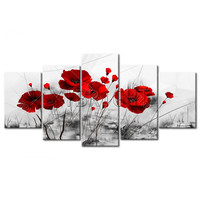 5 Pcs Set Triptych Diamond Painting 5D DIY Diamond Painting Cross Stitch Multi Pictures Diamond Embroidery