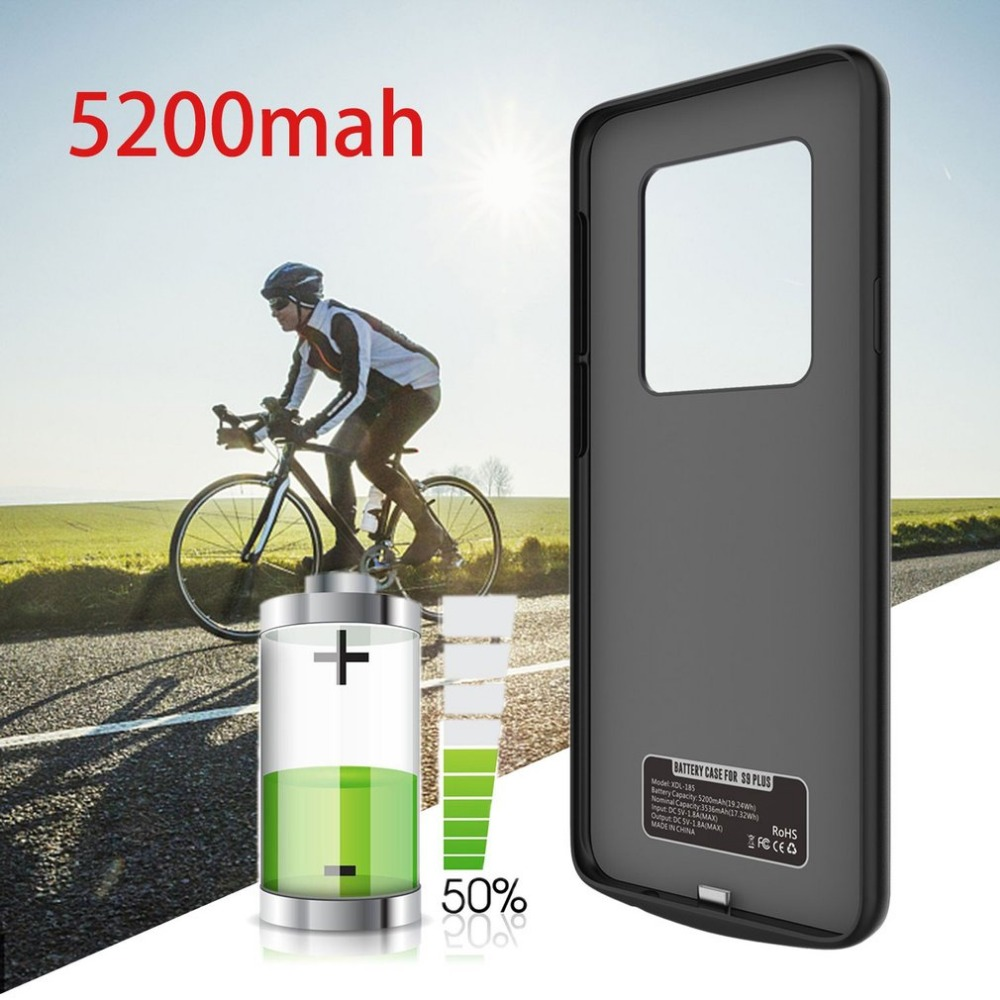 Rechargeable External Backup Charger Case for samsung galaxy S9 Charging Battery Case 5200mAh Battery Charger Case for samsung