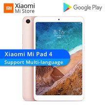 Multi-language Xiaomi Mi Pad 4 Tablets 4 Snapdragon 660 AIE 8'' 16:10 Screen Tablet 13MP Rear Camera Mi Pad 4 3+32GB/4+64GB(China)