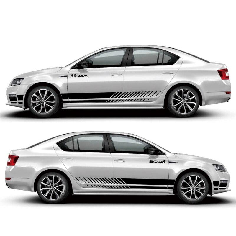 все цены на TAIYAO car styling sport car sticker For Skoda Octavia sticker Mark Levinson car accessories and decals auto sticker
