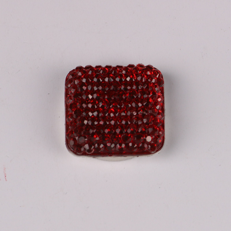 Square Magnet Brooch For Women Exquisite Rhinestone Magnetic Brooches - Fashion Jewelry - Photo 2