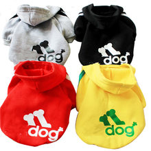 Pets Dog Clothes Sweater Pets Sport Clothes Small Dog Puppy Autumn Winter Clothing Pet Clothing With Hat ropa de perros mascotas(China)