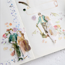 Symphonic dream series washi tape DIY Decorative scrapbooking stickers album Scrapbook masking adhesive tapes