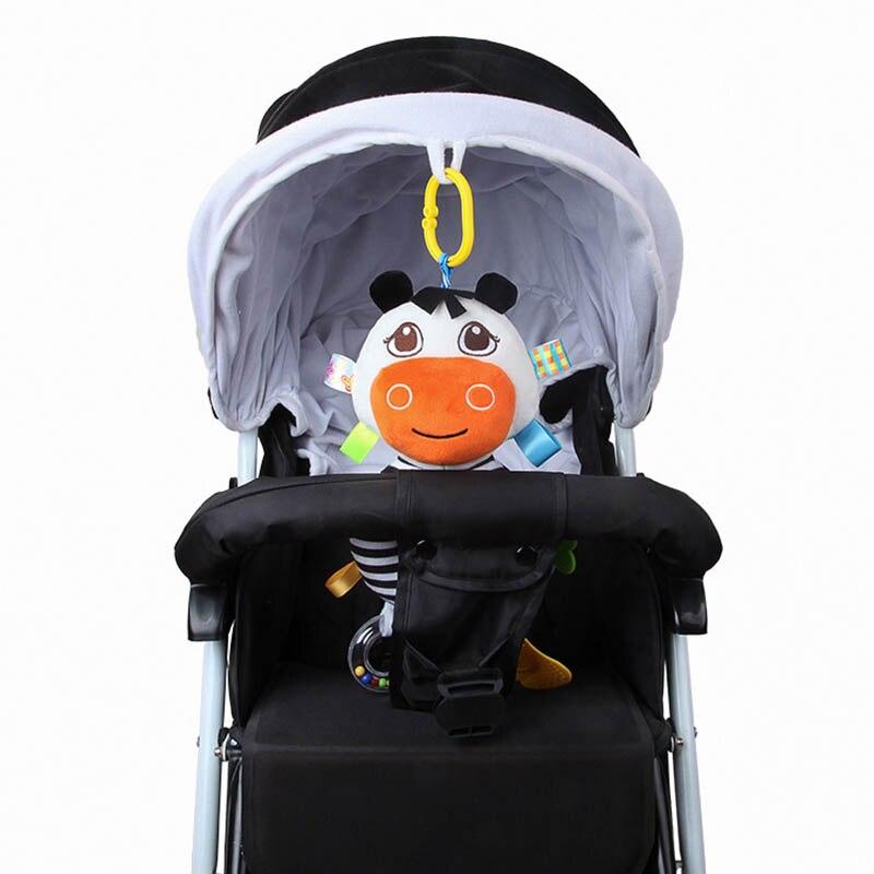 Baby Kinderwagen Hängen Puppe Rasseln Abacus Bett Glocke Beißring Plüsch Cartoon Kuh Infant Spielzeug S7jn Belebende Durchblutung Und Schmerzen Stoppen