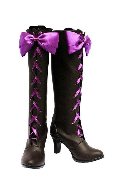 Black Butler 2 Kuroshitsuji Alois Trancy Cosplay Shoes Boots Custom Made