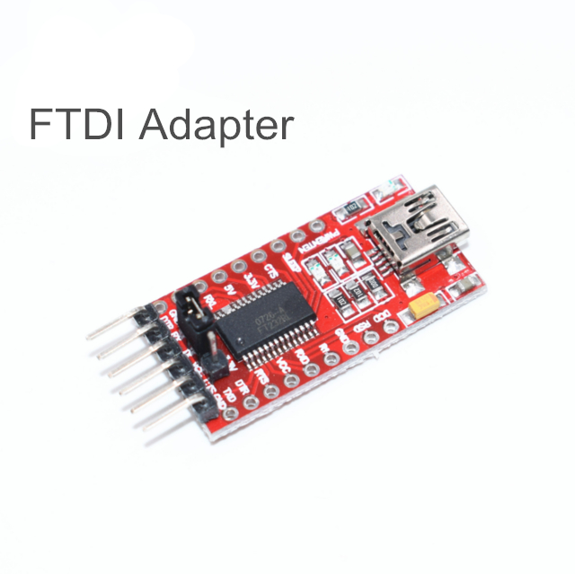 FTDI FT232RL USB to TTL Serial Converter Adapter Module 5V and 3.3V Cable