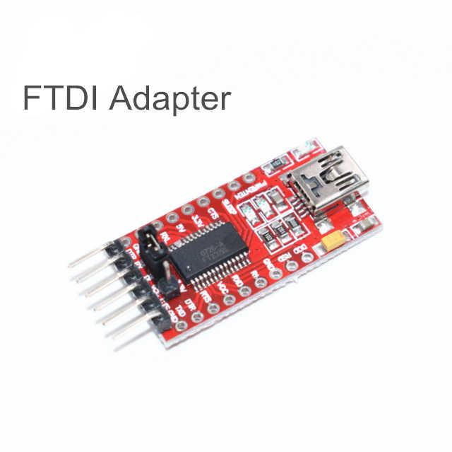 FT232RL FT232 FTDI アダプタ USB に TTL 5V 3.3V ダウンロードケーブルにシリアルアダプタモジュール Arduino のための USB に 232