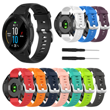 Fashion Sports Silicone Watchband For Garmin Fenix 5 Forerunner 935 945 Strap Quick Wrist Band Replacement Band Garmin Fenix 5 garmin fenix 5 sapphire black black band
