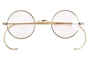 Image 3 - AGSTUM 39mm okrągły Vintage Antique Wire okulary do czytania czytnik okularów + 0.25 + 0.5 + 0.75 + 1.0 + 1.25 + 1.5 + 1.75