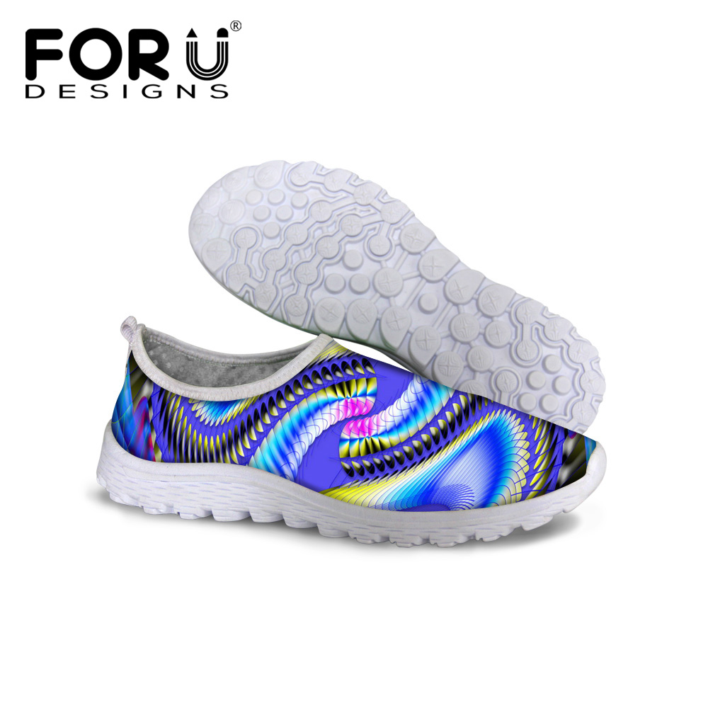 FORUDESIGNS 2018 Women Summer Casual Pedal Lazy Shoe Light Breathable Leisure Mesh Shoes Female Breathable Zapatillas Deportivas plus size casual women shoe mesh breathable sneaker female light summer couple shoes free shipping gold silver black huarche