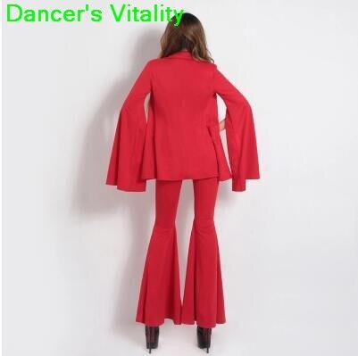Jazz dance costumes ds dancer clothes sexy nightclub dj atmosphere female singer performance suit speaker sleeves bodysuit women