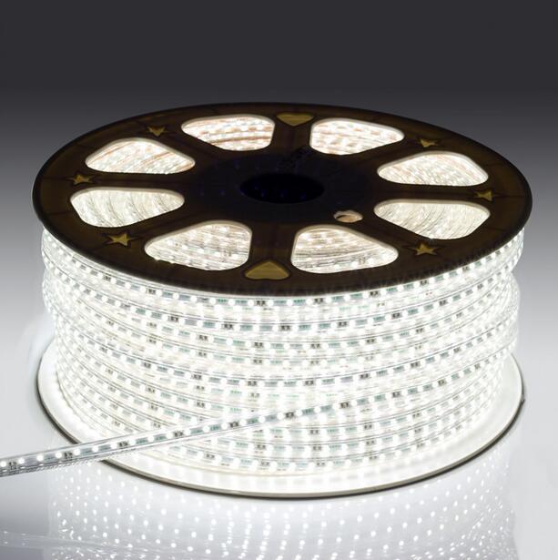 LED bande lumière AC 220 V SMD 5050 Flexible LED bande 60 LED s/m ruban pour salon 60 m 70 m 80 m 90 m 100 m - 4