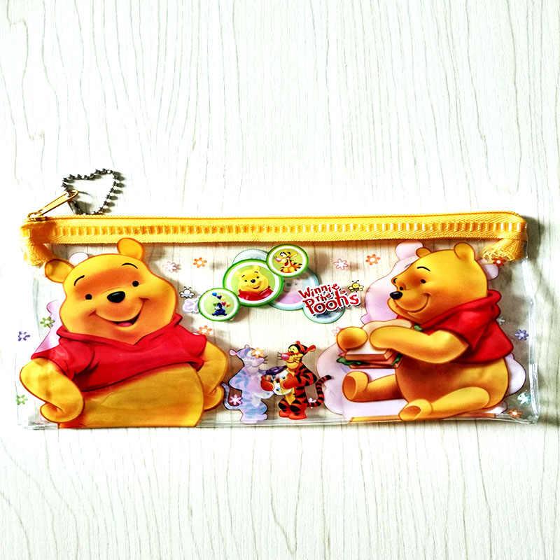 0d6084458c ... Cartoon Kawaii Hello kitty pencil case for kids Cute minion stationery  set for girls ruler eraser ...