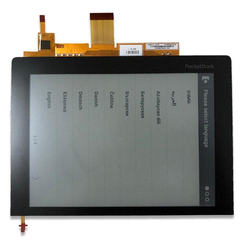 Оригинальный новый 8 дюйм(ов) с сенсорным экраном подсветкой HD Eink Экран для pocketbook 840 для чтения электронных книг ЖК-дисплей Дисплей