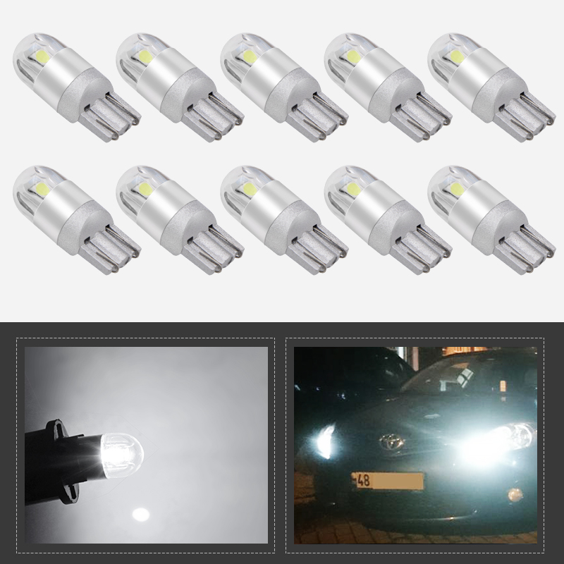 2x Citroen DS5 Bright Xenon White 8SMD LED Canbus Number Plate Light Bulbs