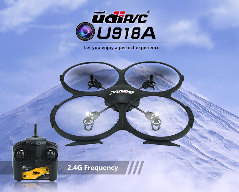 RC Drone UDI U819A Quadcopter 2.4GHZ 4 CH HD camera 720P Helicopter High Quality Headless Mode Aircraft Children gift 360 flips mini drone with camera hd rc helicopter remote control quadcopter headless mode 2 4ghz 30w aircraft toy for adult child gifts