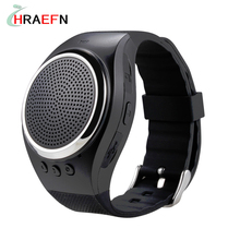 Hraefn Smart band RS09 Bracelet Sport smartband With Music Pedometer Bluetooth sound Speaker wristband For IOS iphone Android