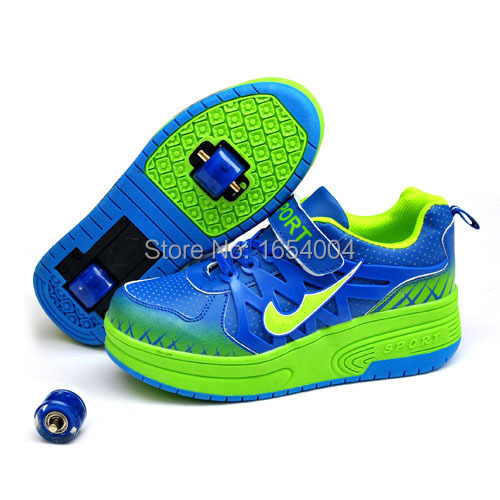 443413d988c3 Children Heelys girls boys roller shoes Two wheels shoes rollerskate  trainers kids fashion sneakers