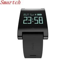 Smartch DM68 Smart Band фитнес-трекер активности cicret браслет крови Давление кислорода сердечного ритма трекер для андроид iOS SH02