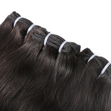 Raw Indian Virgin Hair Weave Bundles 10-24 Inch Straight 3 Pc 100% Human Hair Extension Natural Color