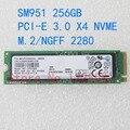 NEW Free shipping 256GB 512GB SSD MZ-VPV2560 SM951 MZVPV256HDGL  MZVPV512HDGL- 00000 256GB M.2 NGFF PCIe 3.0 X4 NVMe SSD