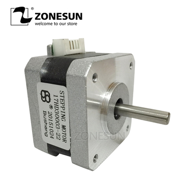 ZONESUN 42 Outer Diameter Of Step Motor 1.2A DC 30mm Height Step Angle 1.8 Degree For 3D Printer And Laser Engraving Machine