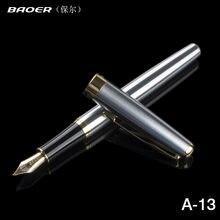 Ручка перьевая baoer 388 из нержавеющей стали с наконечником