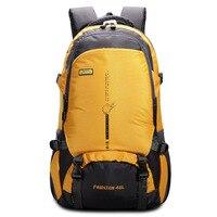 2017 Outdoors Sports Bags Large Capacity 45L Waterproof Nylon Backpack Women Men Hiking Climbing Travel Rucksack Mochila XA1303A
