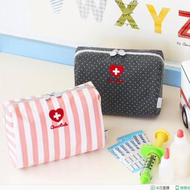2016 New Style First Aid Kit Drugs  Portable Medical Package  Outdoor Emergency Bag  Good Quality Emergency Kits