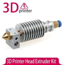 3D Printer DIY J-head/ Printer Head Extruder Kit short / remote Thermistor Single Nozzles 1.75MM/3.0MM Filaments