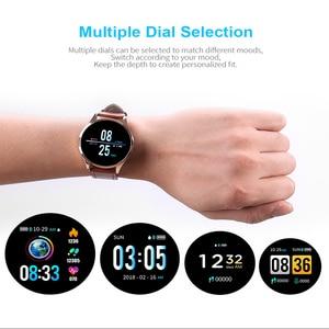Image 3 - Q9 Smart Watch Men  Waterproof Message Call Reminder Smartwatch Women Heart Rate Monitor Fashion Wristband Fitness Tracke.