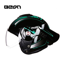 2017 New Netherlands BEON motorcycle half Flip UP face helmet summer uv electric bicycle helmets safety hat size M L XL