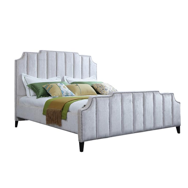 Encantador Muebles De La Reina Cabecera Tapizada Friso - Muebles ...