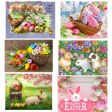 DIY Diamond Painting Easter Egg Embroidery Cartoon Home Decoration Full Square Picture Rhinestone Mosaic
