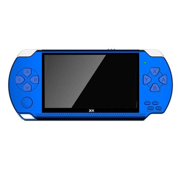 Handheld Game Console Screen Mp5 Game Player Mp4 Player Real 8gb Support For X6 PSP Game Camera Video
