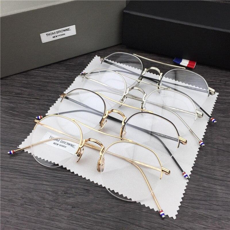 בעבודת יד רטרו מסגרת tb903 משקפיים מסגרת קוצר ראיה קריאת משקפיים עם חבילה מקורית eyewear Oculos
